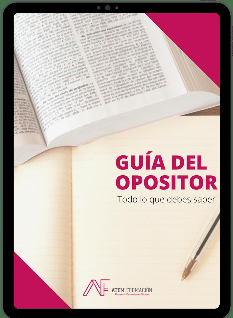 Diseño guía del opositor